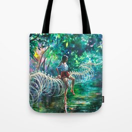 Dopamine Jungle Tote Bag