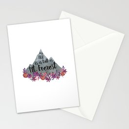 TBR Is Mt Everest Stationery Cards