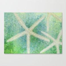 Seastars Canvas Print