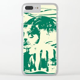 Toby the cat b Clear iPhone Case