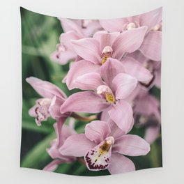 Orchid cascase Wall Tapestry