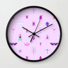 Love Bugs Wall Clock