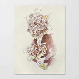 Happy Valentine's Canvas Print