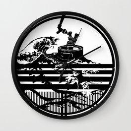 Redline Crest Wall Clock