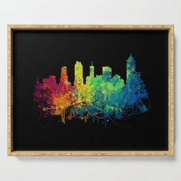 Painted Skylines: Atlanta Serving Tray