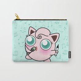 Cute Jiggly puff Carry-All Pouch