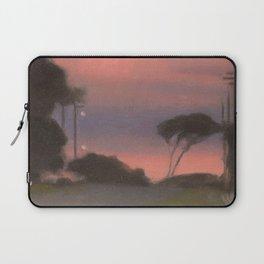 Evening Landscape - Clarice Beckett - Australian abstract Realism Laptop Sleeve