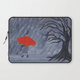 Orange Umbrella Laptop Sleeve