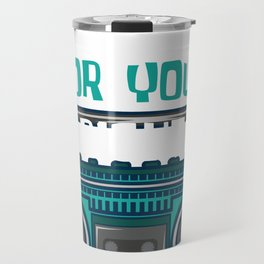 Fight For Your Right Party 1986 Jukebox Gift Travel Mug