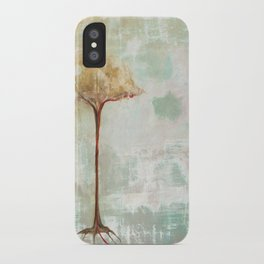 the hard line iPhone Case