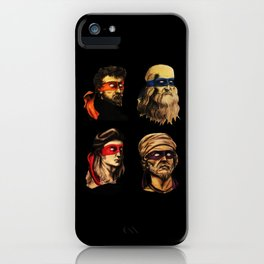 Renaissance Mutant Ninja squad iPhone Case