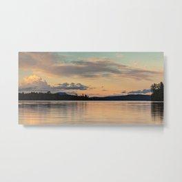 at sunset Metal Print