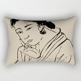 Lady Elegance Rectangular Pillow