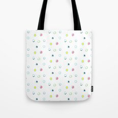 Rosewall buds (on white) Tote Bag