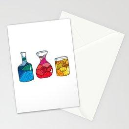 Water, Wine or Orange Juice Stationery Cards