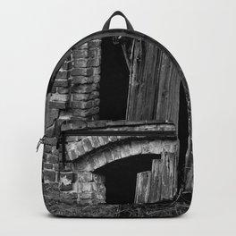 Old abandoned barn Backpack