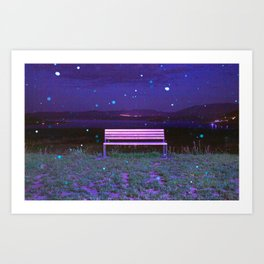 Time Moves Slow Art Print