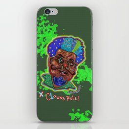 The Clown Father iPhone Skin