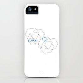Blockchain Crypto Bitcoin Geek iPhone Case