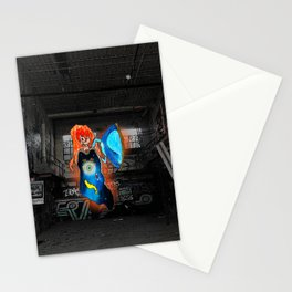 Commander's One Winged Angel Stationery Cards