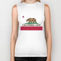 2pac Biker Tanks featuring California Love by Poppo Inc.