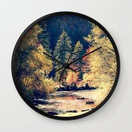 Austrian fall Wall Clock