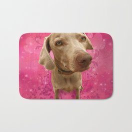 PARKER POSEY (strawberry) puffy cloud series Bath Mat