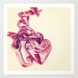 Heart of Juicy Art Print
