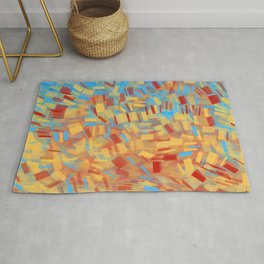 Colored Papers Rug