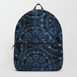 Blue Bohemian Pattern Backpack