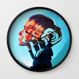 Women Thougths Wall Clock