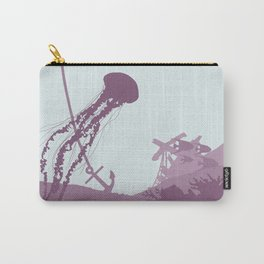 Jellyfish of the Reef Carry-All Pouch