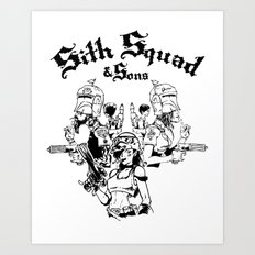 Sith Squad and Sons Art Print
