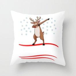 Christmas Let It Snow Throw Pillow