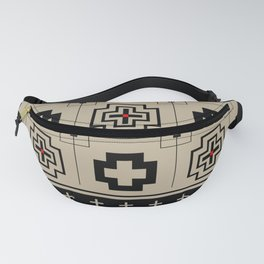 The Directions (Black) Fanny Pack