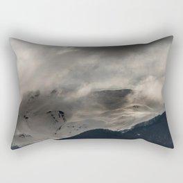 Mountainous terrain Rectangular Pillow