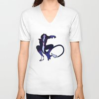 nightcrawler V-neck T-shirts featuring Nightcrawler by rdjpwns