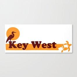 Key West - Florida. Canvas Print