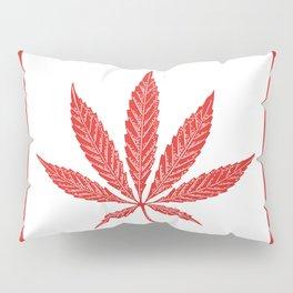 Canada Cannabis Flag Pillow Sham
