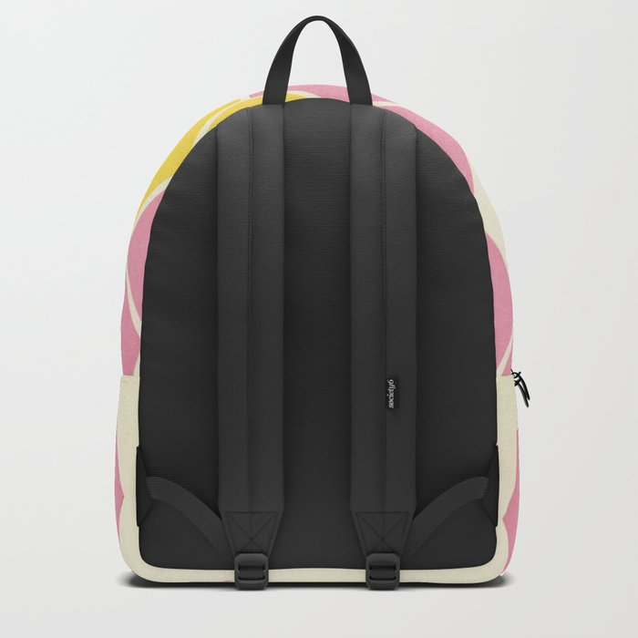 Pink Honeycomb Backpack