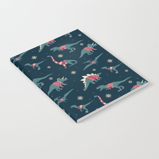Dinos In Sweaters Notebook