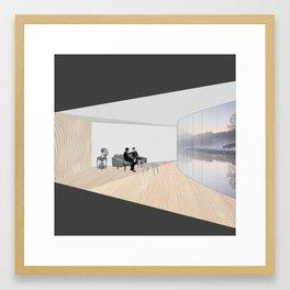 The Respite Framed Art Print