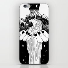 the world in my hand iPhone & iPod Skin