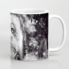 bored monkey wsbw Coffee Mug