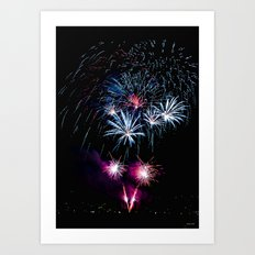 Happy New Years 2011 Art Print