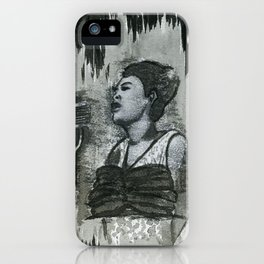 Ms. Billie iPhone Case