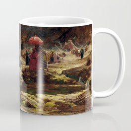 Albert Goodwin The Sultan and his camp by the enchanted lake Coffee Mug