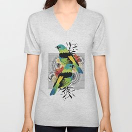 Green-headed Tanager Unisex V-Neck