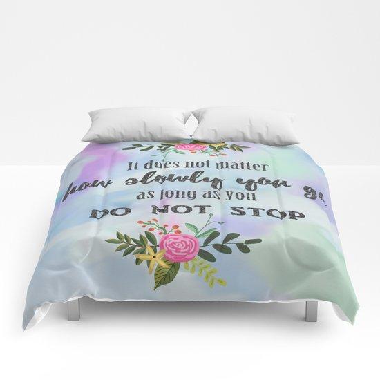 Do not stop Comforters