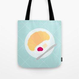 #15 Croissant Tote Bag